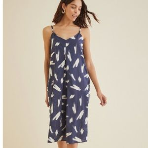 Waverly Brushstroke Midi Dress